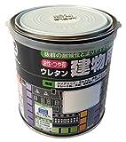 ロックペイント 油性・つや有ウレタン建物用塗料 銀 0.7L H06-0536-03
