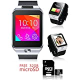 Cell Phones Accessories Best Deals - Indigi? Android 4.4 SmartWatch 3G+WiFi Google Play Apps GSM+WCDMA - FREE 32gb SD