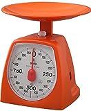 タニタ アナログクッキングスケール 1kg オレンジ 1439-OR