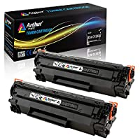 Arthur Imaging Compatible Toner Cartridge Replacement for Hewlett Packard CF283A (HP 83A) (Black, 1-Pack) by Arthur Imaging