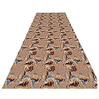 ZEMIN 3D 厚くする 廊下敷きカーペッ 床を守る 掃除が簡単 カーペット ユーティリティ、 2色、 マルチサイズ カスタム (色 : A, サイズ さいず : 1x2m)