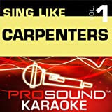 Yesterday Once More (Karaoke with Background Vocals) [In the Style of The Carpenters]