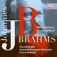 ブラームス:ヴァイオリン協奏曲ニ長調Op.77、交響曲第4番ホ短調Op.98 [Import] (Brahms - Symphony No 4; Violin Concerto)