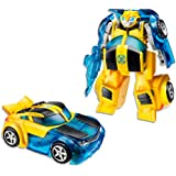 TRANSFORMERS Bumblebee Converting Robot Action Figure - Playskool Heroes - Rescue Bots Energize - Kids Toys - Ages 3+