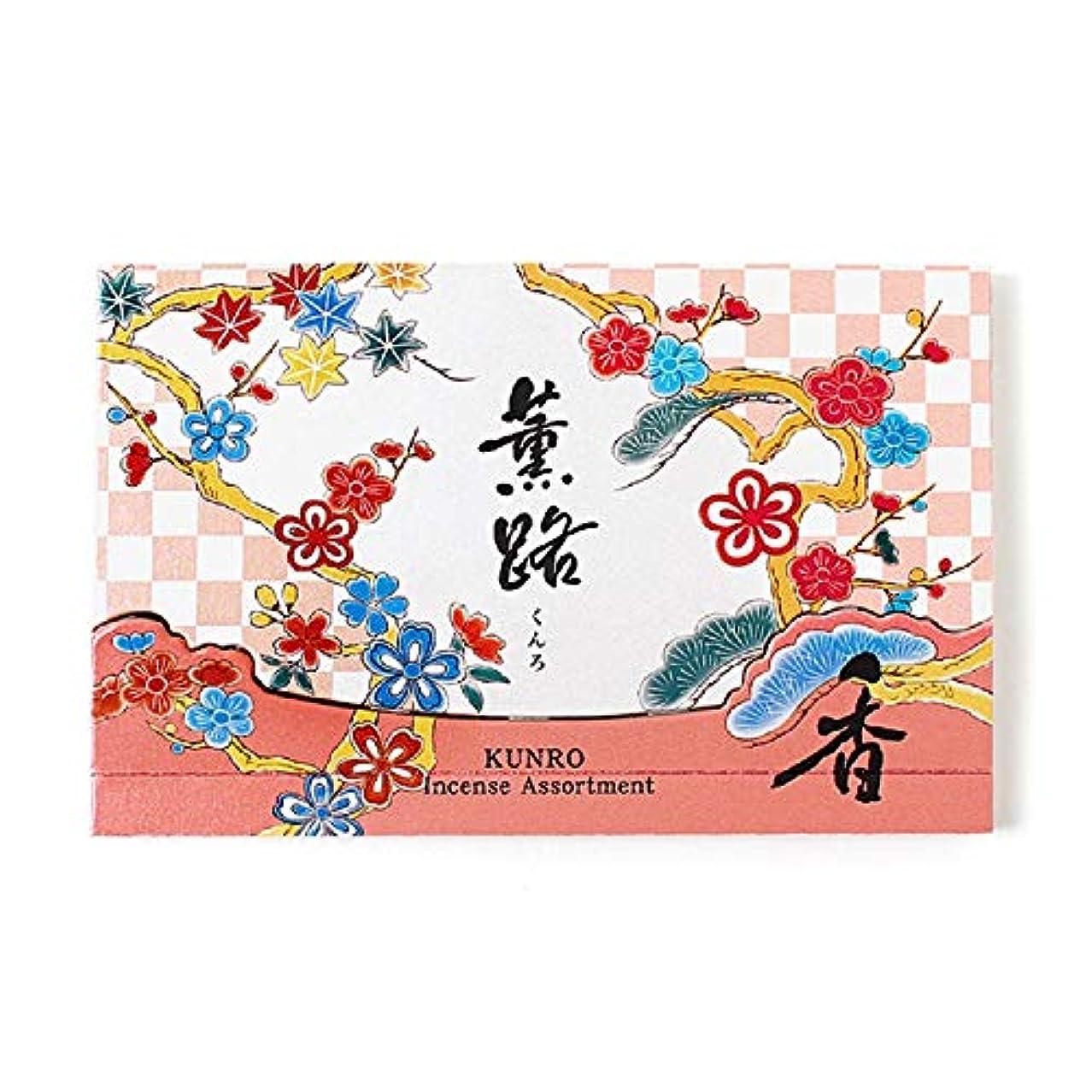 港真似るママ松栄堂 お香 薫路アソート 25本入