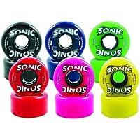 Blue Sonic Outdoor Roller Skate Wheels