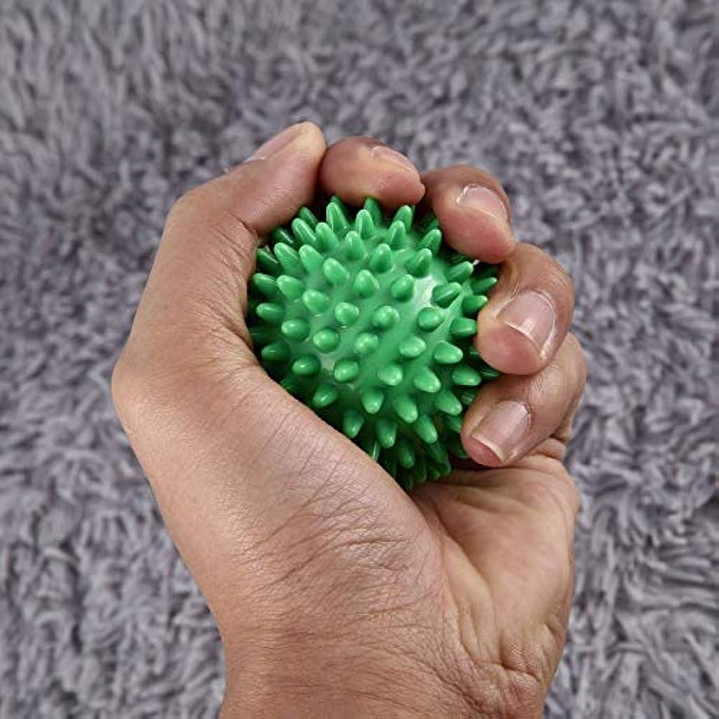 免疫ラジウム統治可能PVC高密度とがったマッサージボール足の痛みと足底筋膜炎緩和剤治療ハリネズミボールマッサージ指圧ボール足の痛みと足底
