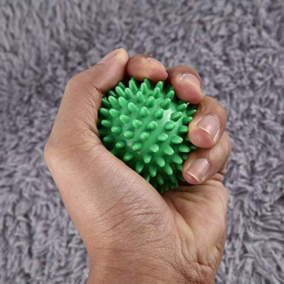 PVC高密度とがったマッサージボール足の痛みと足底筋膜炎緩和剤治療ハリネズミボールマッサージ指圧ボール足の痛みと足底