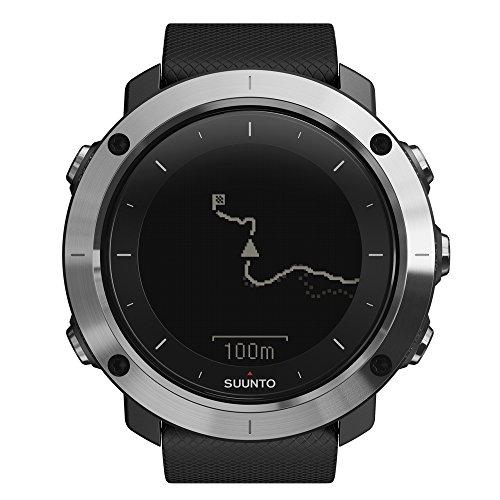 SUUNTO(スント) 登山 トレッキング GPS TRAVERSE BLACK トラバース ブラック 【日本正規品】 SS021843000
