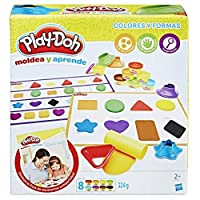 Play-Doh – Learn Colours and Shapes (Hasbro B3404546) [並行輸入品]
