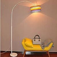 JCRNJSB® LEDフロアランプ釣りランプリビングルームベッドルームスタジオクリエイティブリモートコントロールライトなしのライト 照らすために調光可能 ( 色 : #1 , サイズ さいず : S s )