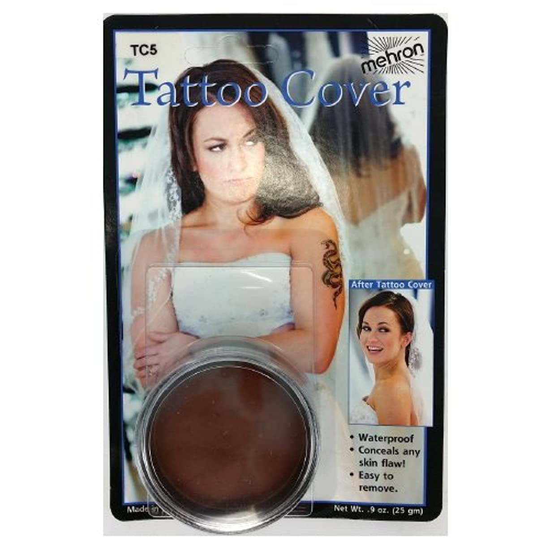 (3 Pack) mehron Tattoo Cover - Darkest Color (並行輸入品)