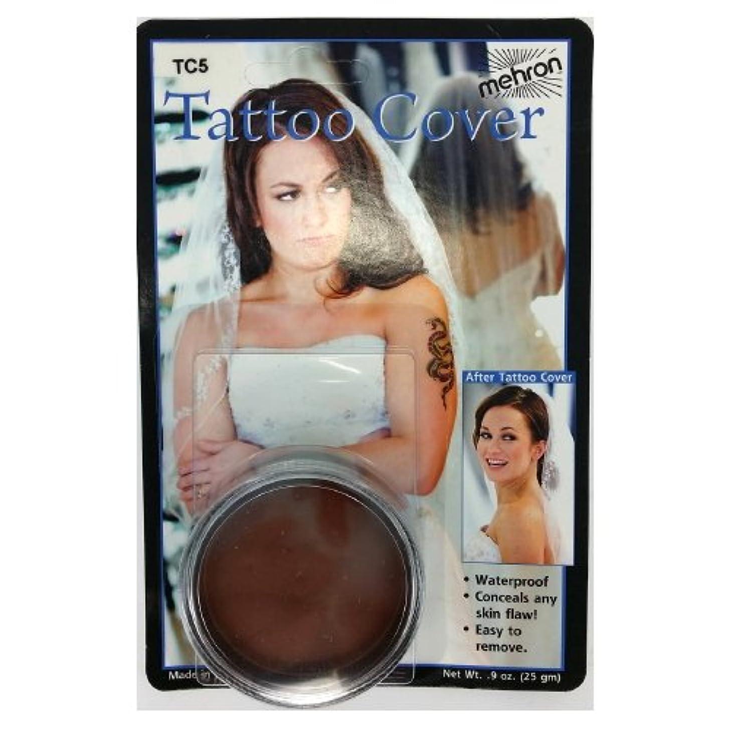圧縮爵荷物(3 Pack) mehron Tattoo Cover - Darkest Color (並行輸入品)