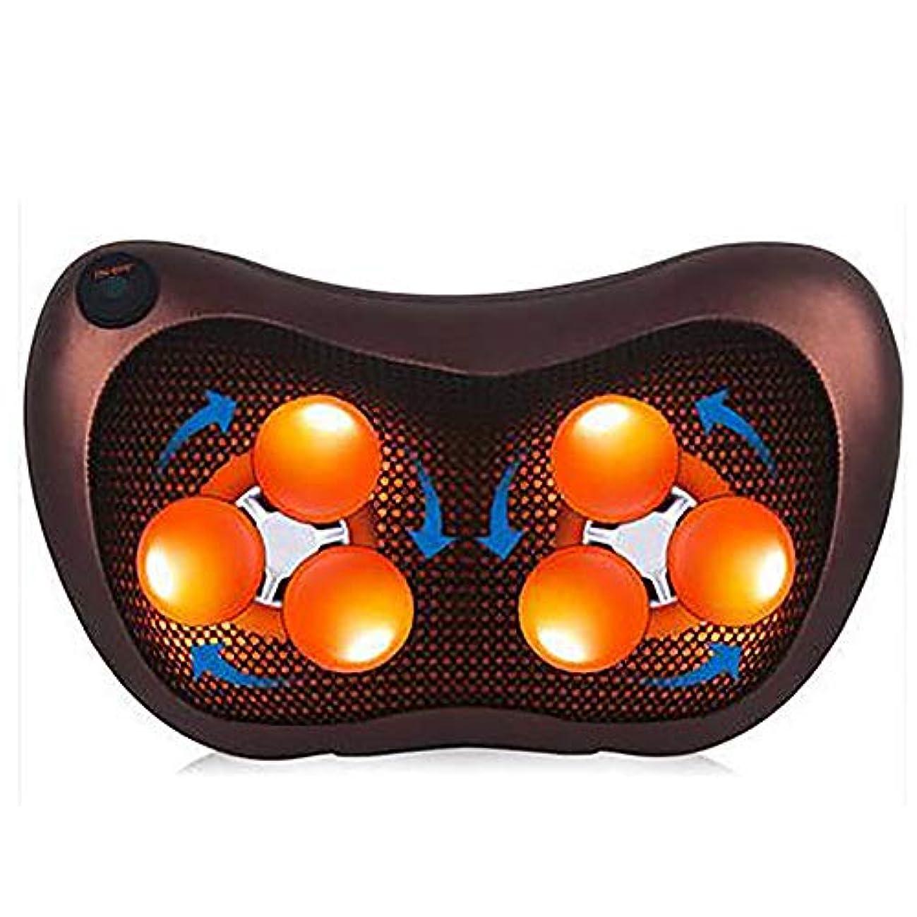 コイン打撃遊び場ネック指圧電動マッサージ枕、マッサージ枕車の家電気多機能マッサージクッション頸椎シミュレーション人マッサージ