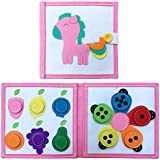 Colour Pony Quiet Book. Australia's  Educational Toy for Toddlers, Early Childhood Development Book for Boys and Girls in Australia. Felt Busy Book for Sensory, Fine Motor Skills and Pretend Play