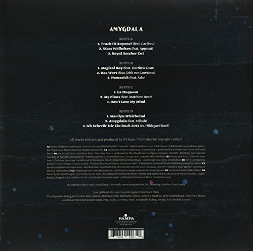 Amygdala  (2lp Ltd. Vinyl + Mp3 + 7inch) [12 inch Analog]