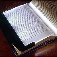 ViCreateナイトビジョンPaperback Book Reading Lightwedge LEDライトパネル( 3x AAA )