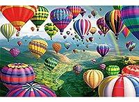 Puzzles カラフルな熱気球 - / 500/1000 300個大人は子供の教育玩具ギフト用の木製ジグソーパズルパズル (Size : 1000pcs)