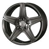 タルガ (TARGA / TAS) エージーエー(AGA) 18インチ アルミホイール AGA Burg for Mercedes-benz ■ 8.0J PCD:112 5H +46 チタングレー 1本 -