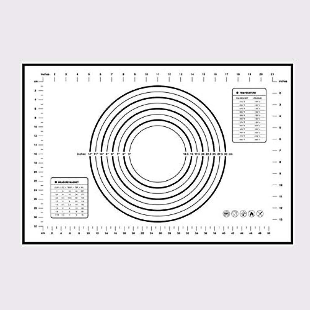 後者弾性バインドSaikogoods シリコンベーキングマットピザ生地メーカーペストリーキッチンガジェットクッキングツール食器耐熱皿混練アクセサリー