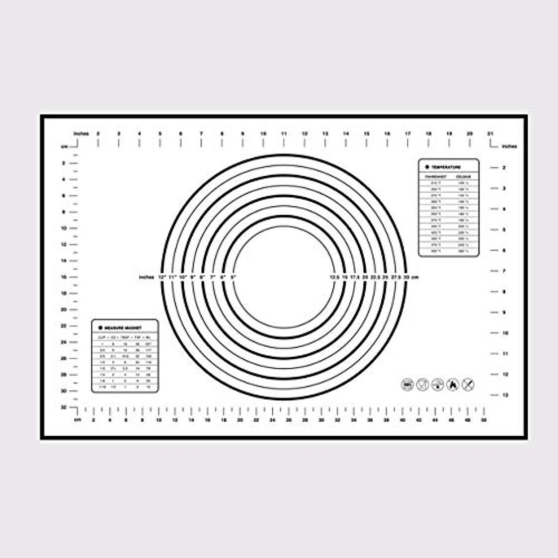 マニアディプロマ協定Saikogoods シリコンベーキングマットピザ生地メーカーペストリーキッチンガジェットクッキングツール食器耐熱皿混練アクセサリー