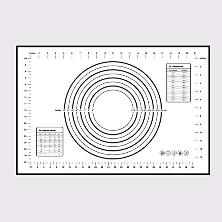 コレクションまどろみのある評価可能Saikogoods シリコンベーキングマットピザ生地メーカーペストリーキッチンガジェットクッキングツール食器耐熱皿混練アクセサリー
