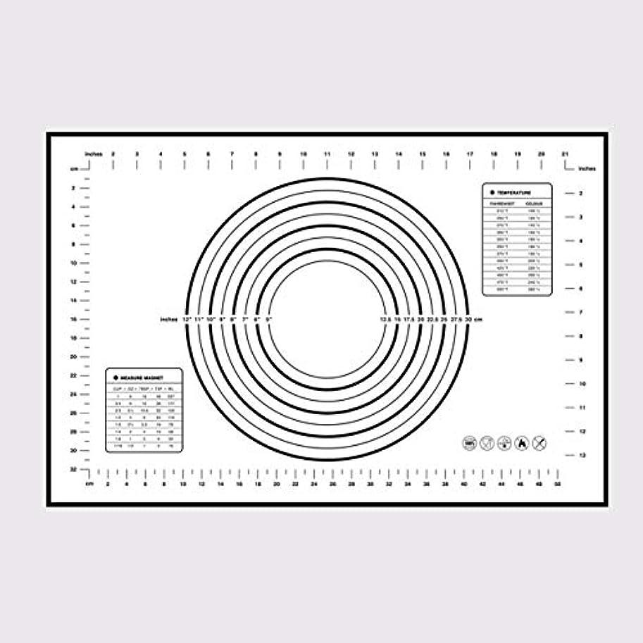 シンク簡単に胚Saikogoods シリコンベーキングマットピザ生地メーカーペストリーキッチンガジェットクッキングツール食器耐熱皿混練アクセサリー