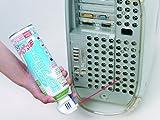 ナカバヤシ エアダスター 逆さ使用OK トリガータイプ カーボンオフセット付 ノンフロン 44943 画像