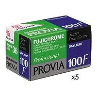 Fujifilm Fujichrome Provia 100F Color Slide Film ISO 100, 35mm, 5 Rolls of 36 Exposures [並行輸入品]