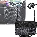 KEENOO Car Seat Storage - Handbag Holder Front Seat Storage,for Tissue Purse Holder & Pocket,Upgrade Car Barrier Organizer,Se