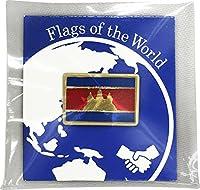 世界の国旗 ピンバッジ Sサイズ 8×12mm:カンボジア
