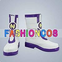 ★サイズ選択可★女性23.5CM UA1511 超次元ゲイム ネプテューヌ ネプギア コスプレ靴 ブーツ
