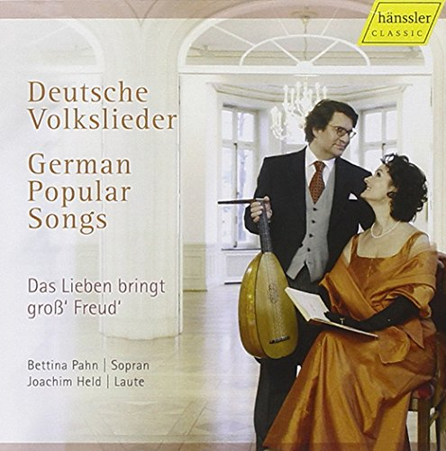 ドイツのポピュラーソング集 ( Deutsche Volkslieder ( German Popular Songs ) / Joachim Held (lute) & Bettina Pahn (S))