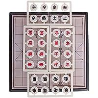 MagiDeal磁気折りたたみポータブルTraditional Chineseチェス旅行ゲームボードセット7.5インチ旅行ゲーム