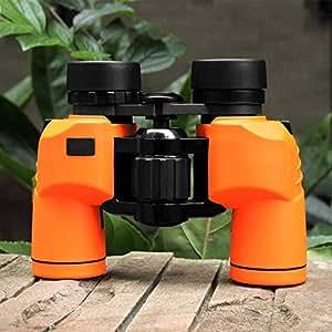 YFFSS 8x32特殊防眩完全コーティングオプティクス軽量合金ボディ、バードウォッチングを含むすべての用途に最適、見やすく携帯電話の写真を撮ることができる、容認しやすい (色 : Orange)