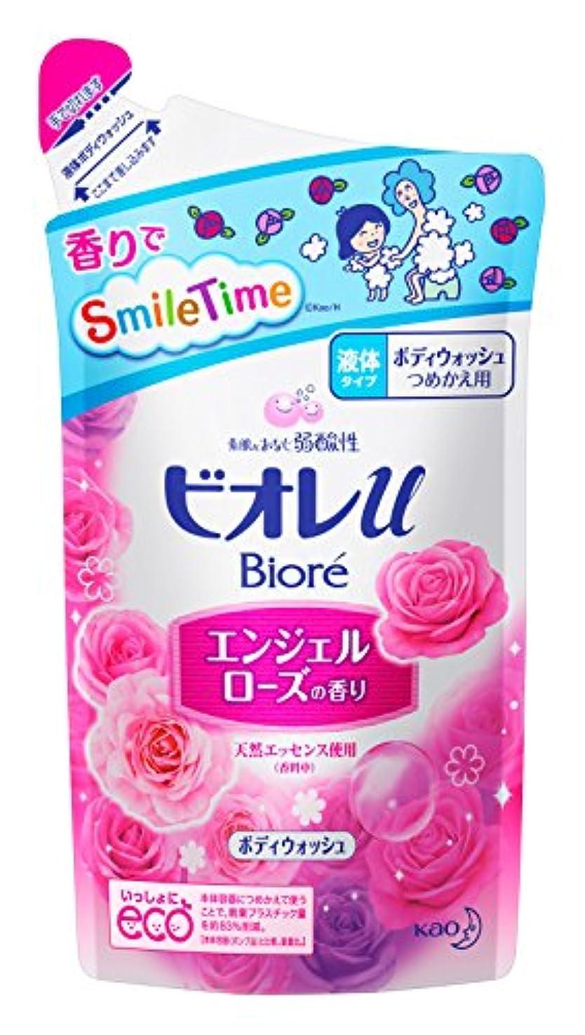ミシンファンドゆるいビオレu エンジェルローズの香り つめかえ用 380ml