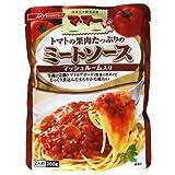 マ・マー トマトの果肉たっぷりのミートソース マッシュルーム入り (260g)