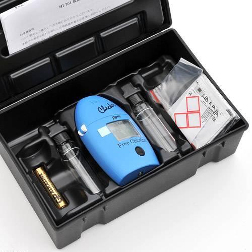 ハンナ 残留塩素(遊離塩素)LRチェッカー 水質測定 HI701