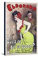 Eldorado–Qu ' est–Ce Qui Se Passe ?ヴィンテージポスター(アーティスト: Redon )フランスC。1905 24 x 36 Gallery Canvas LANT-3P-SC-58846-24x36