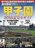 高校野球マガジン VOL.6 2016甲子園展望号 2016年 9/2 号 [雑誌]: ベースボールマガジン 増刊