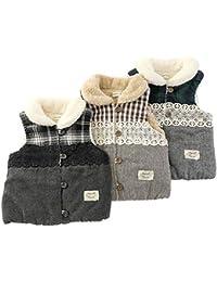 Biquette (ビケット) ベスト (80~130cm) キムラタンの子供服 (32014-183) ブラウン 110