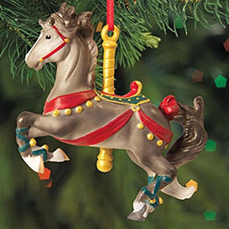 Breyer馬2012 Holiday Prancer回転木馬オーナメントMelody