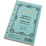 ライフ ノーブル システム手帳 リフィル 横罫 ミニ R202