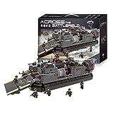 Yyz 3006ピース ミリタリーシリーズ 戦場を越える 装甲兵員キャリア ホバークラフト 組み立て玩具 組み立てブロック モデル 誕生日ギフト