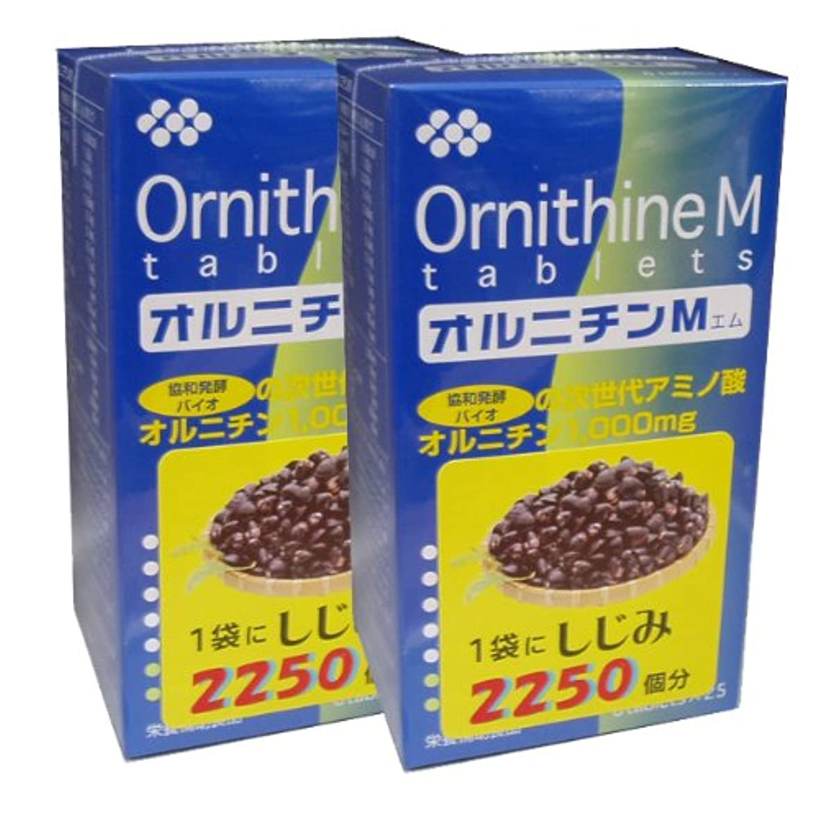 ロックアジア人悪意協和発酵オルニチンM (6粒×25袋)×2個セット