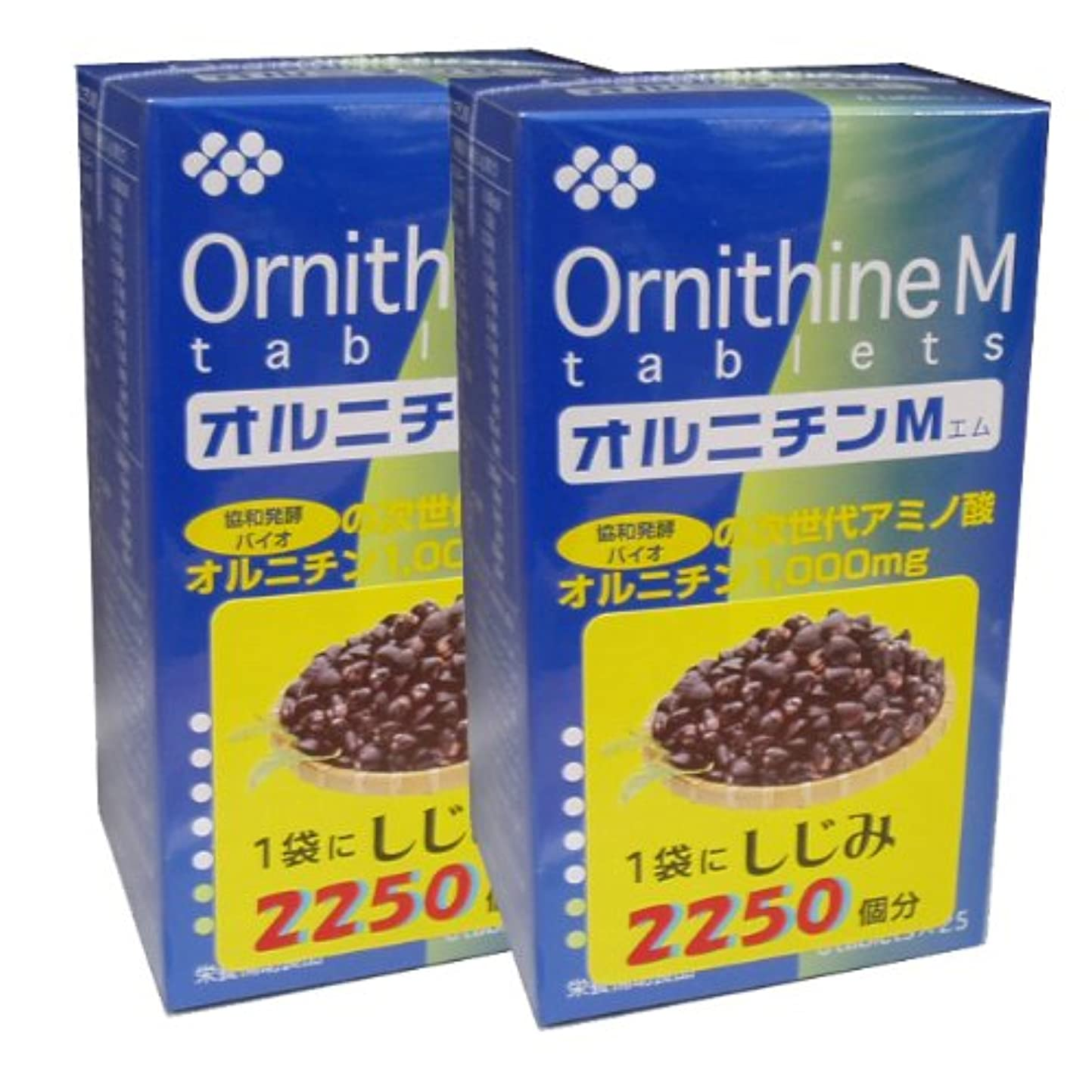 擬人合理的嫌な協和発酵オルニチンM (6粒×25袋)×2個セット
