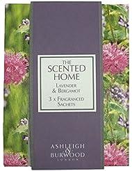 Ashleigh&Burwood サシェ×3個 ラベンダー&ベルガモット Sachet×3 Lavender&Bergamot アシュレイ&バーウッド