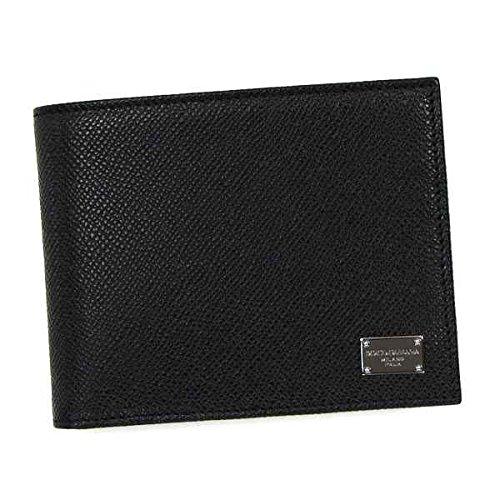 Dolce & Gabbana ドルチェ&ガッバーナ WALLET 二つ折り財布 ブラック BP0457 [並行輸入品]