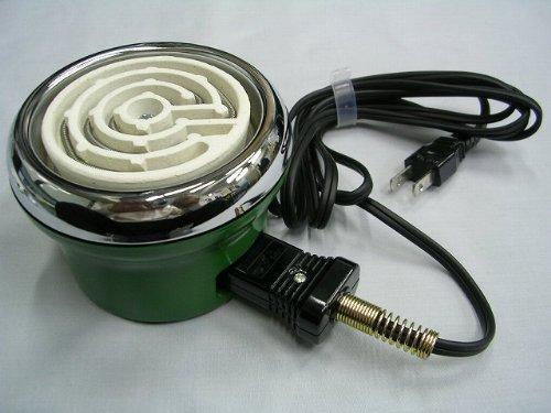 タキイ電器 電気コンロ ベビーコンロ 200W 緑