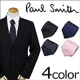 (ポールスミス)Paul Smith ネクタイ シルク ドット イタリア製 ギフトケース付 (並行輸入品)
